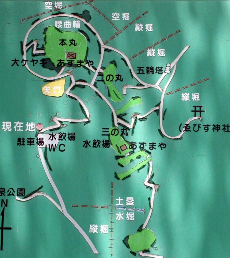 替佐城/④案内図