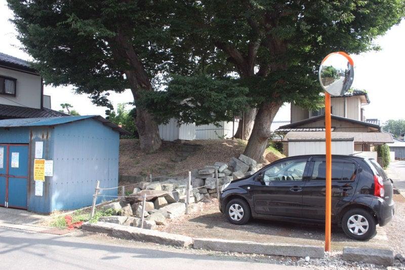 横田城/①土塁