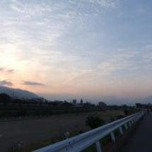 早朝ジョグ・日の出・…