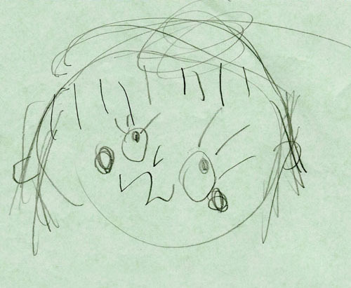 子供の絵で作る