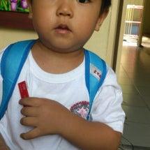 健 2歳7カ月、慎 …