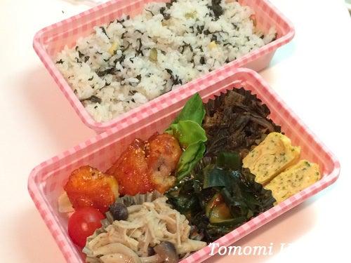 韓流女子のお弁当