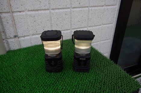 エクスプローラー、ハイランダー LEDランタン比較3