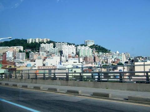 住宅街,釜山,韓国〈著作権フリー無料画像〉Free Stock Photos