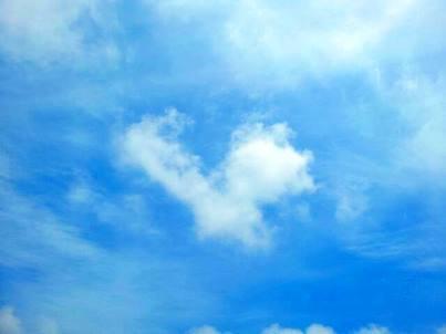 ハートの空