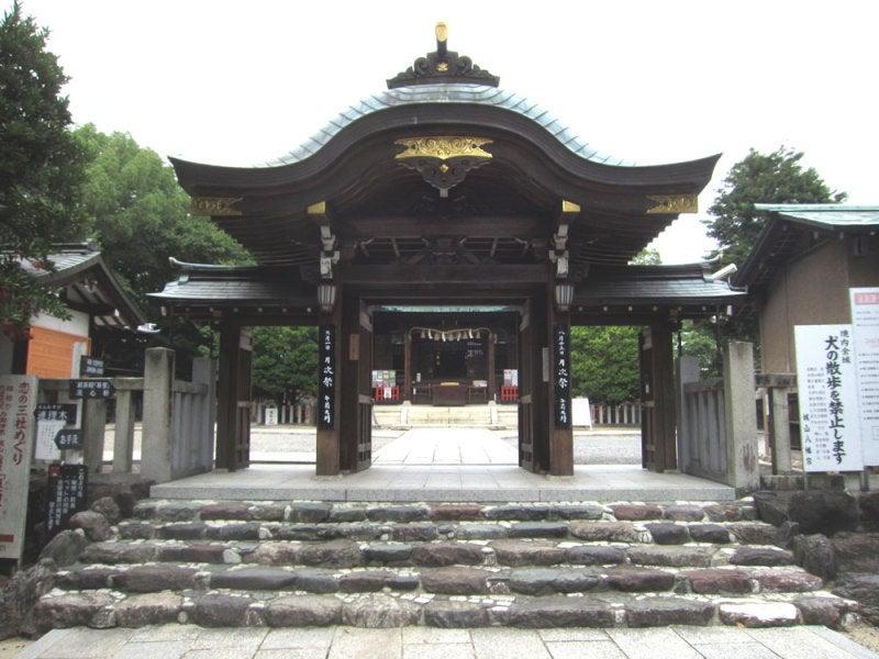 末森城/②城山八幡神社