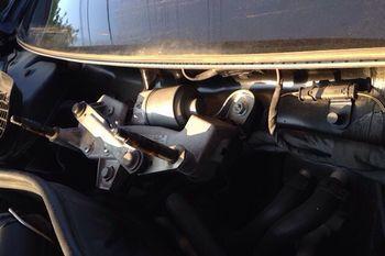 W221 ワイパー修理