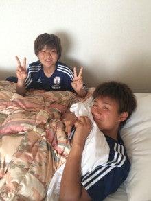 川澄奈穂美の画像「がんばれ!カツオ!」