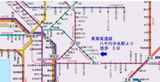 遺影写真 千葉県地図