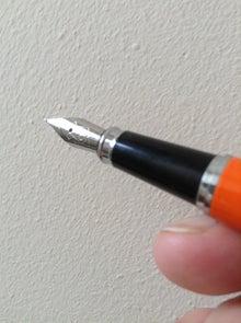 付録の万年筆