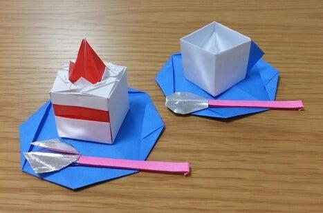 クリスマス 折り紙 折り紙 ケーキ : ameblo.jp