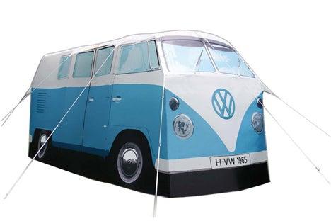こんな素敵な「ワーゲンバス」型テントが
