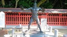 古代力士像