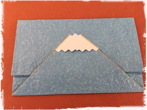 ハート 折り紙 折り紙 カード入れ : ameblo.jp