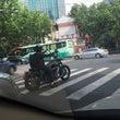 上海のオートバイ