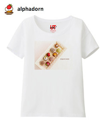 UTme!のあみぐるみスイーツTシャツ