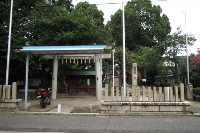 大秋城/①大秋八幡神社