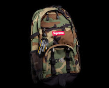 Supreme 15ss cordura backpack カモフラージュ