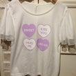 ♡ハートロゴTシャツ…