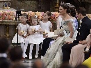 【スウェーデン王室】カール・フィリップ王子&ソフィア・ヘルクビスト ロイヤルウエディング結婚式2