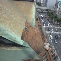 歌舞伎座解体工事