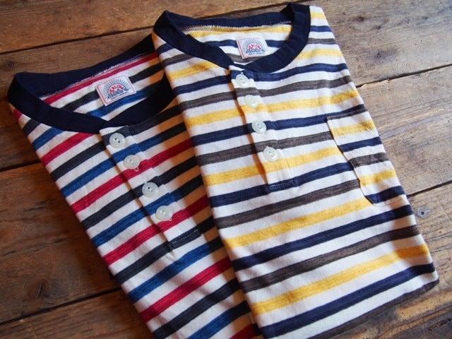 YEALOW ヘンリー Tシャツ