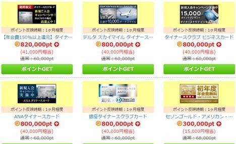 カード発行だけで現金40,000円以上!