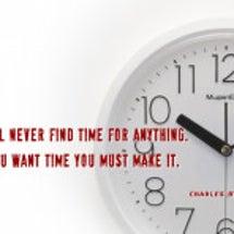 時間がない!