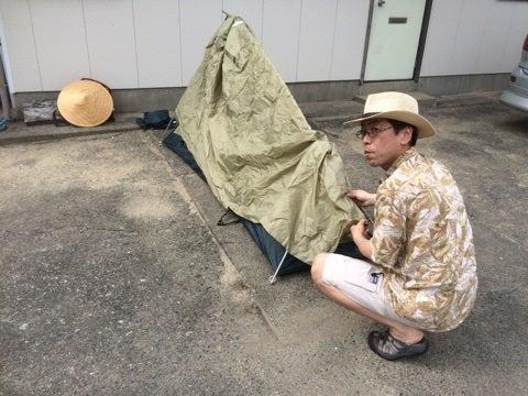 テントとたっちゃん