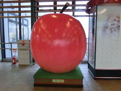 巨大リンゴ