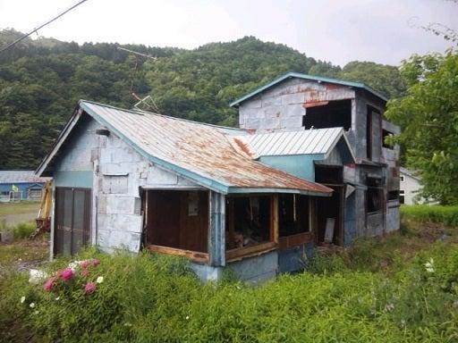 アルテピアッツァ美唄 廃墟 2015.6.17