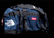 supreme north face ダッフル