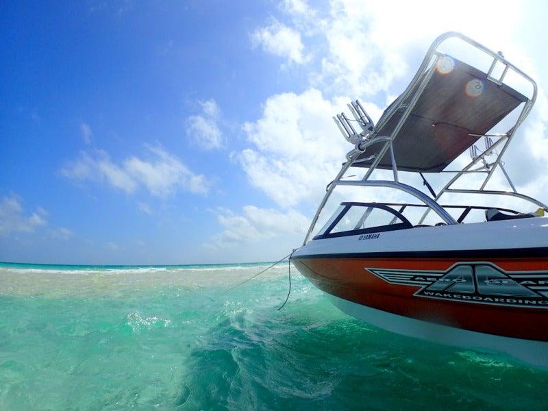 貸切となるボート
