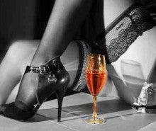 Sexy Wine Leg