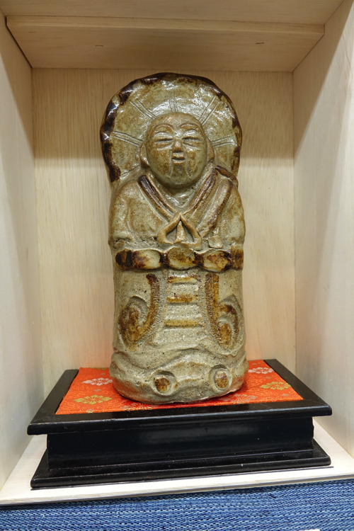 3陶器の仏像