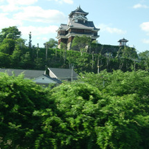 電車から見える福知山…