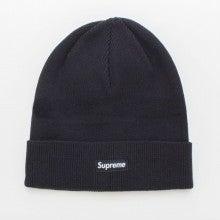 supreme ニット帽 solid beanie ブラック