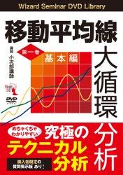 移動平均線大循環分析第一巻 〜基本編〜本体 2,000円  税込 2,160円