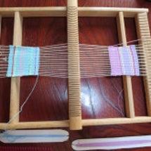 一台の織り機で、同時…