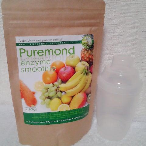 美味しく「ピュアモンド酵素スムージー」でダイエット♪
