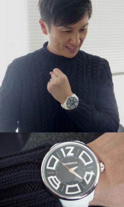 tendence腕時計コーディネートメンズ