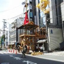 京都・祇園祭準備
