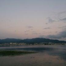 夏の早朝琵琶湖釣行は…