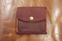 折り財布(赤×キャメル)池田町Kさん1507-2