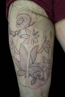 金魚 タトゥー TATTOO 刺青