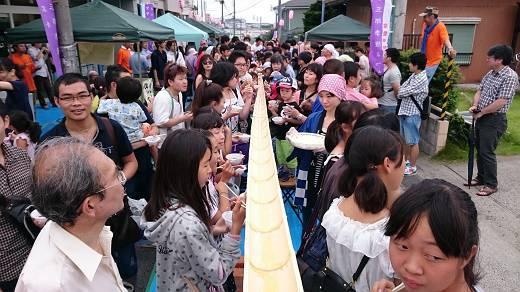 愛甲三郎納涼祭り2015