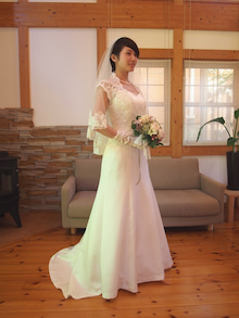 ドレス撮影白