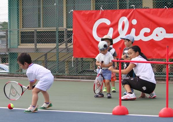 第3回 尾﨑里紗×glicoキッズテニス