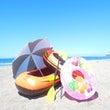 「白浜の海へ さぁ~…