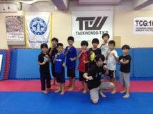 2015年テコンドーT.K.D夏季強化合宿 XMA練習